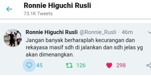 Begini Pengamatan Prof Ronnie Higuchi Rusli Tentang Kecurangan Pemilu