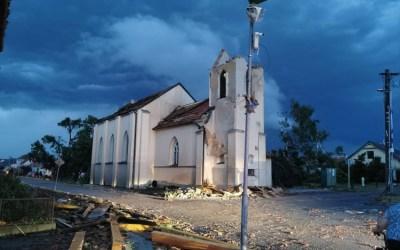 Silná búrka na Morave