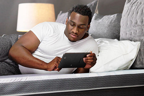 Rest Bed with Galaxy Tablets