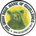 the Green Bear Mark of Excellence logo