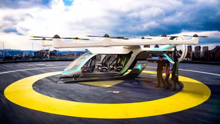 Flying Car Dubai