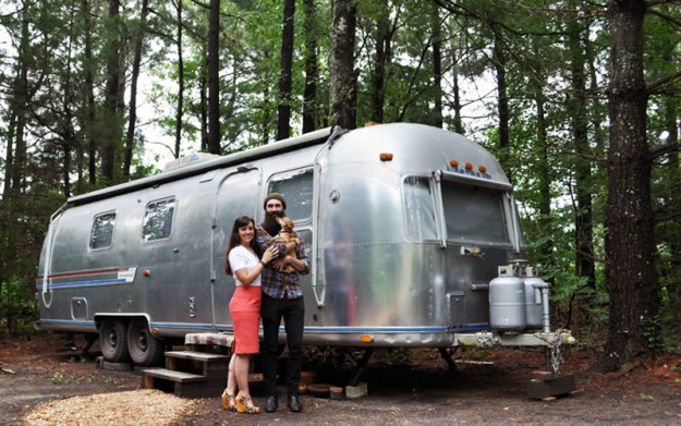 Living in an airstream full time