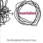 A Small Life Book Club: Essentialism