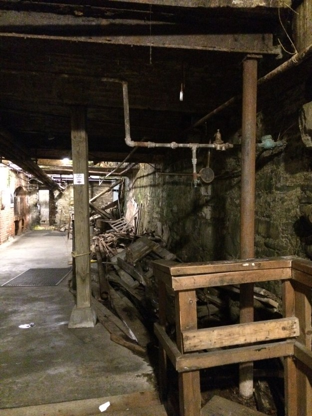 This pic doesn't look like much, but it's underground Seattle!