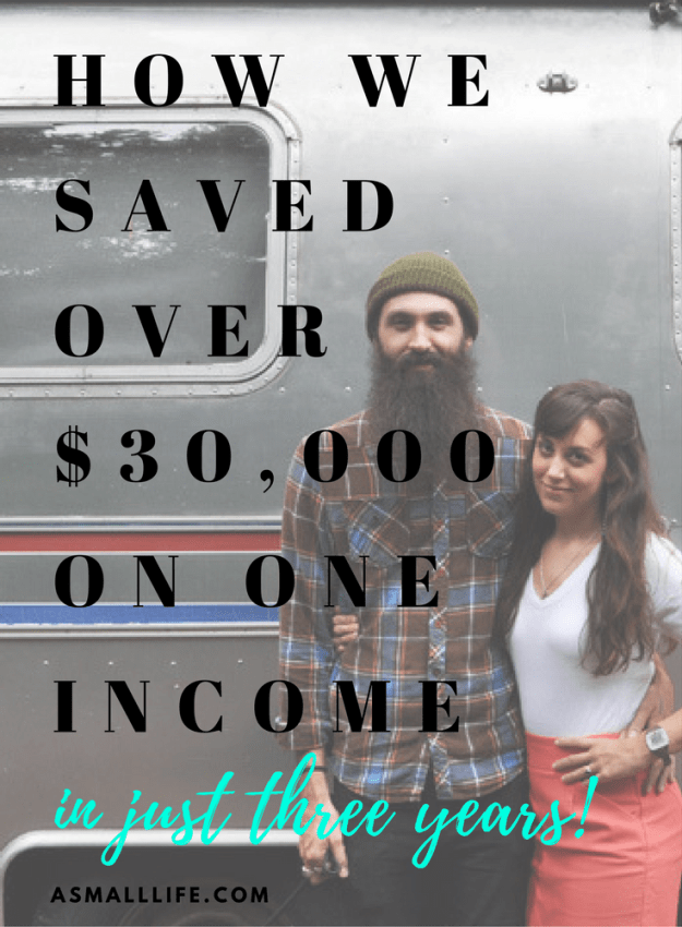 How one couple saved over $30,000