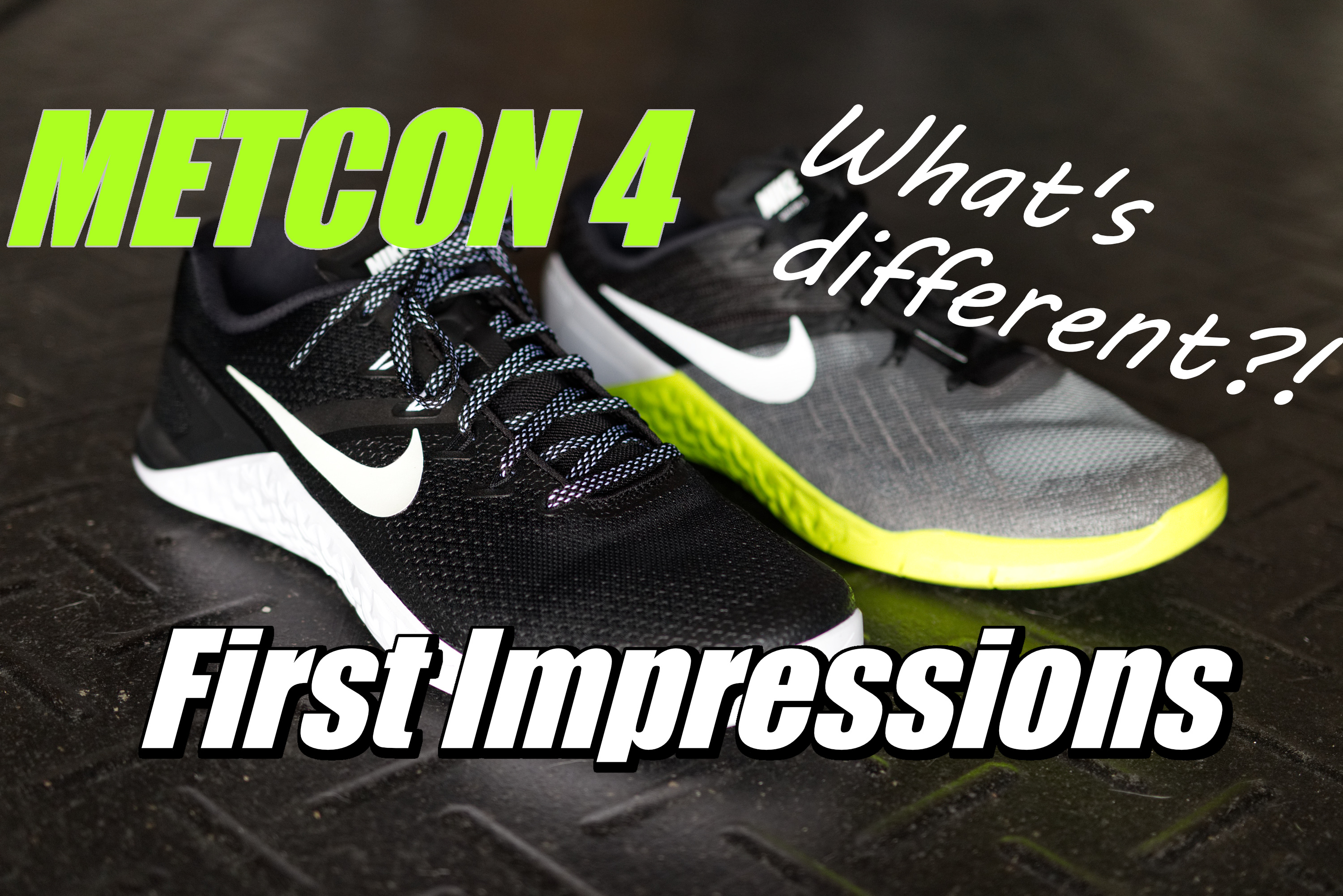 Nike METCON 4 First Impression Review!