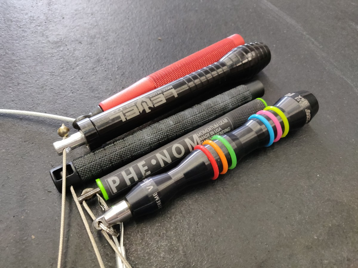My TOP 5 Jump Ropes for CrossFit