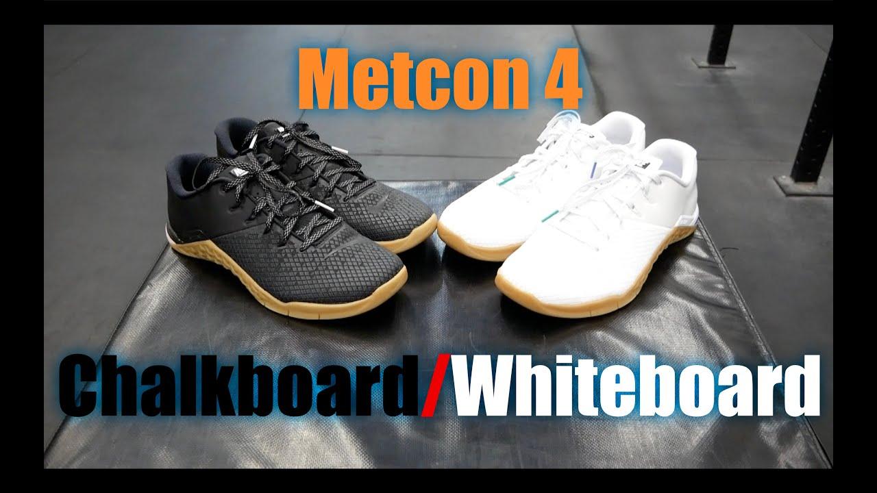 Metcon 4 XD Chalkboard/Whiteboard TEST