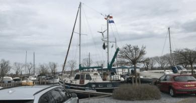 Vertrek haven Jonkman Sassenheim