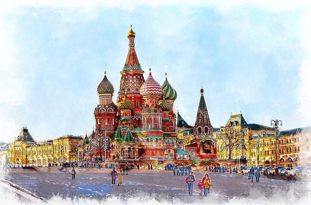 Visitar en Moscú