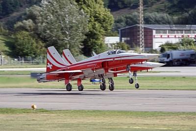 2017.09.15 - Sion Air Show - Patrouille Suisse (1)