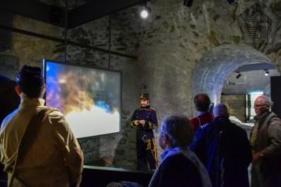 Fort de Bard, musée de la fortif