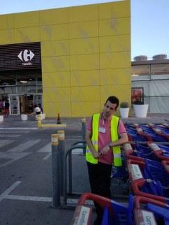 Óscar vuelve a trabajar este mes de Julio en Carrefour