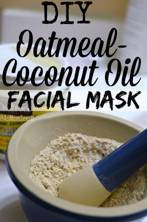 Oatmeal Coconut Oil Mask