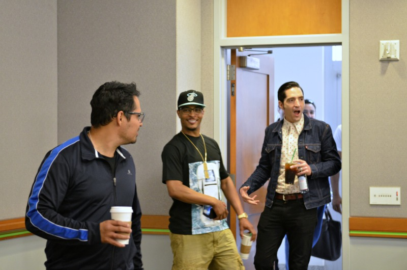 T.I., Michael Pena and David Dastmalchian of Ant-Man