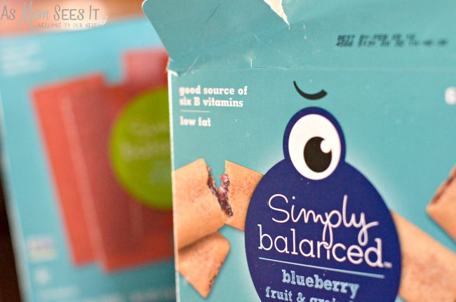 Simply Balanced snack foods