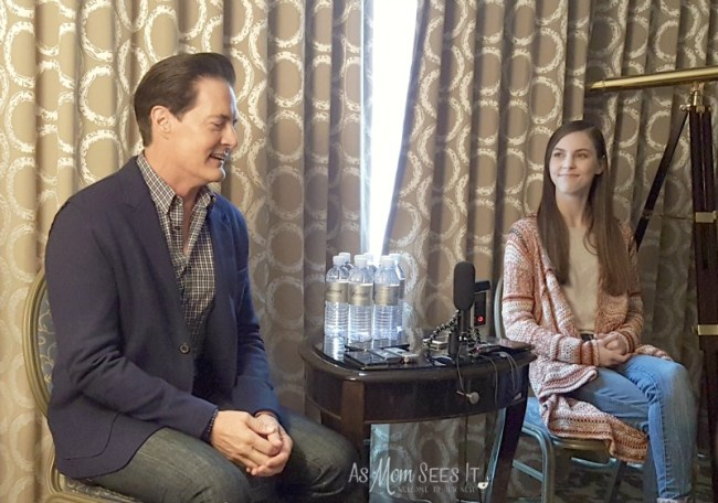 Inside Out's Kyle MacLachlan And Kaitlyn Dias