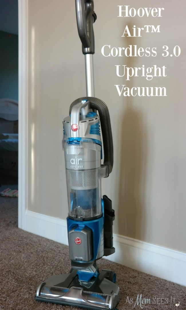 Hoover cordless upright vacuum is perfect for any size house