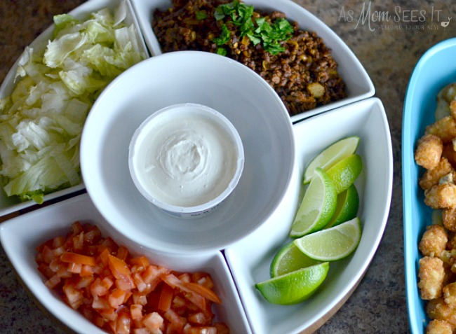 Toppings for Totchos Bar