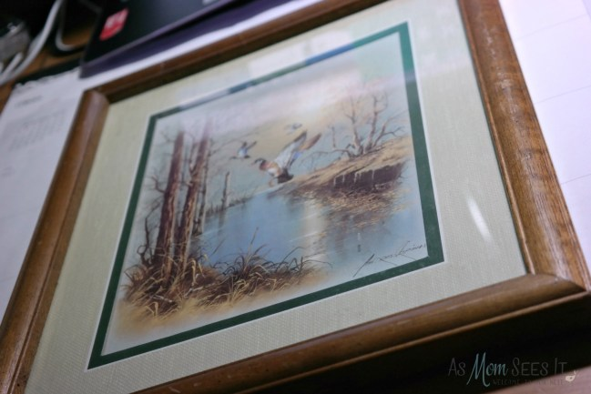 Quick picture frame craft