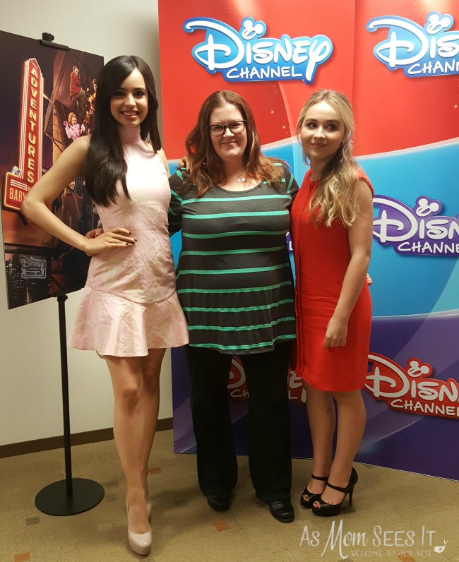 Sofia Carson and Sabrina Carpenter star in Disney Channel's Adventures in Babysitting