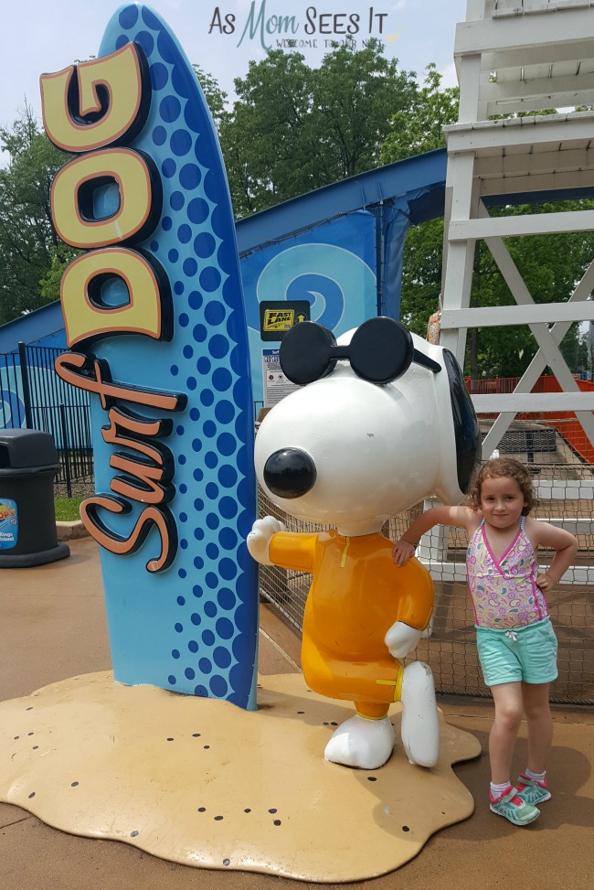 Camp Snoopy at Kings Island in Mason, OH