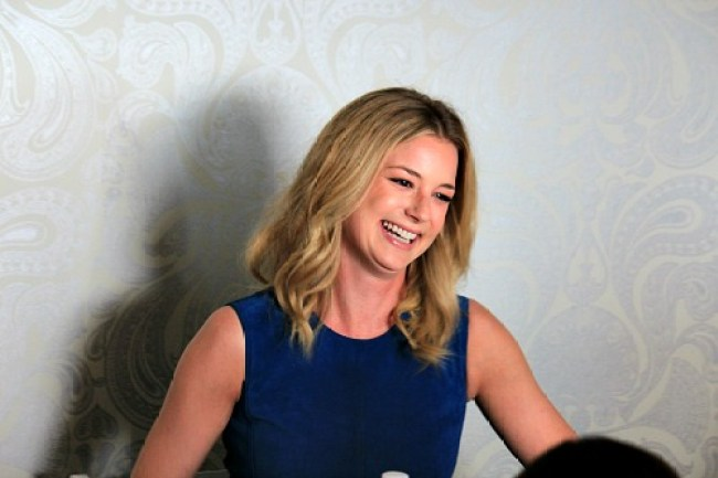 Actress Emily VanCamp plays Sharon Carter/Agent 13 in the Marvel Cinematic Universe