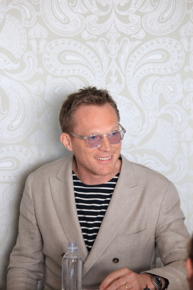 Paul Bettany talks about costume and makeup and what love means for Vision