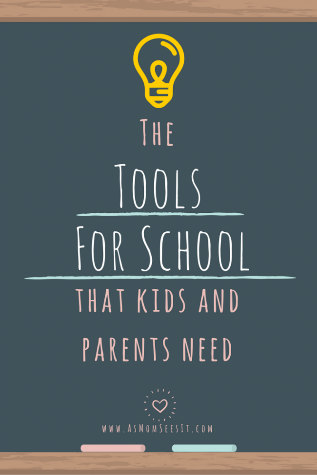 The tools kids and parents need for school