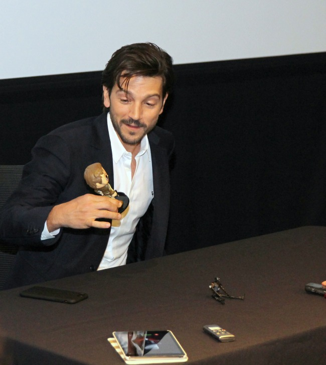 Diego Luna stars as Captain Cassian Andor in Rogue One