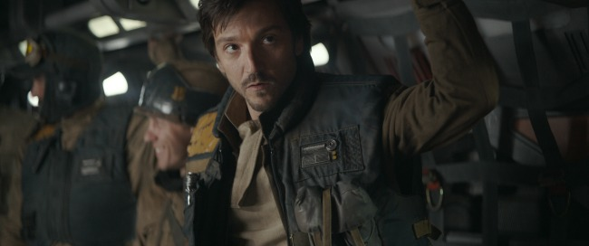Diego Luna stars as Cassian Andor in Rogue One: A Star Wars Story