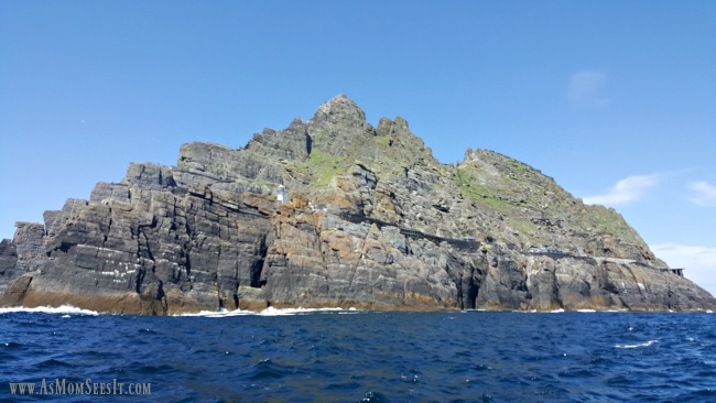 Skellig Michael 7 miles off the coast of County Kerry, Ireland