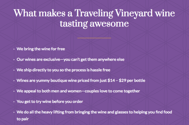 What makes being a wine guide with Traveling Vineyard different from other direct sales opportunities