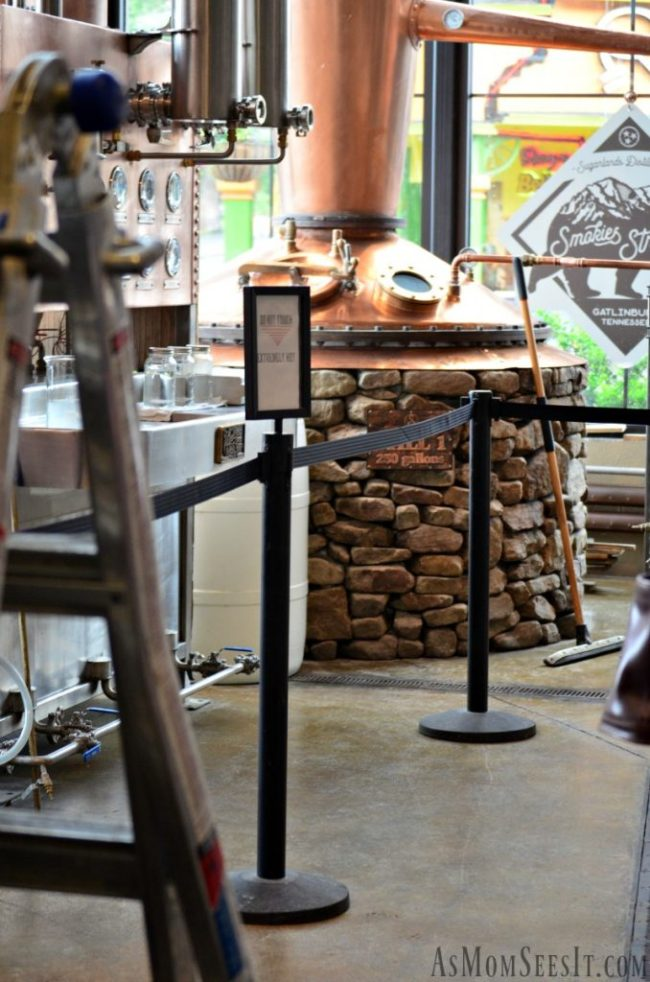 Behind the scenes at Sugarlands Distilling Co. in Gatlinburg Tenessee making summer cocktails