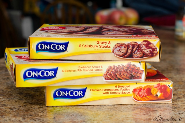On-Cor meals are a quick meal option with more meat and ingredients your family will love