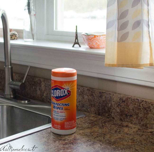Clorox means clean, but it also kills 99.9% of germs that can live on surfaces for up to 48 hours, kills 99.9% of viruses* and bacteria, and kills Staph, E. Coli, Salmonella, and Strep