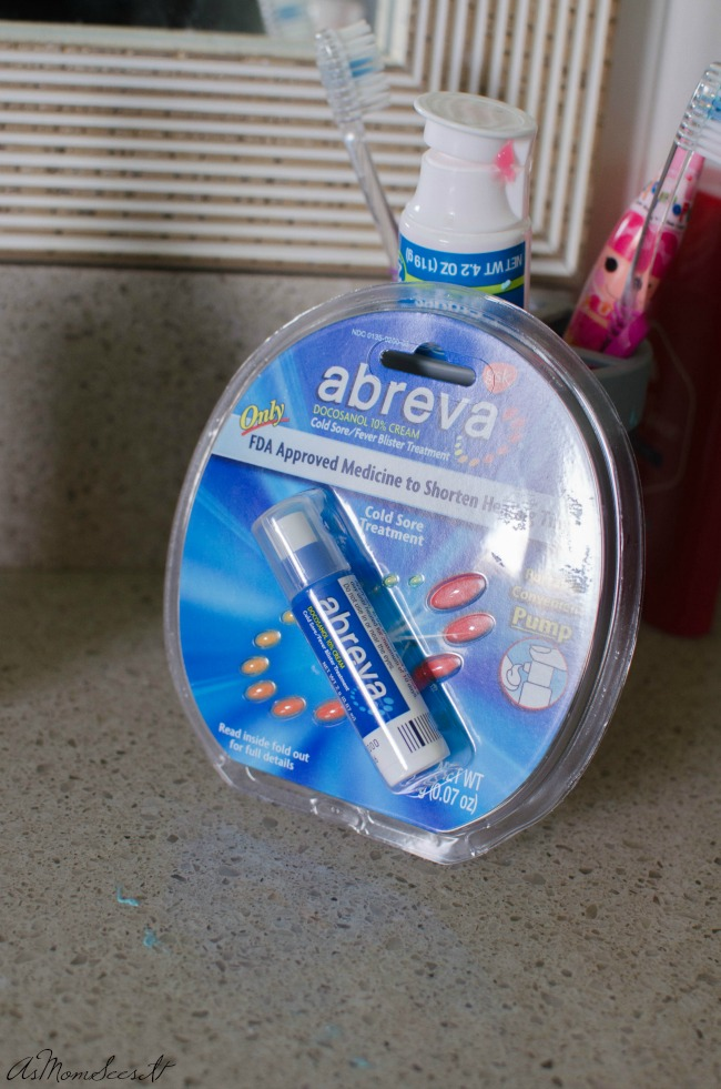 Abreva is easy to apply and has the power to heal your cold sore in as little as two-and-a-half days.