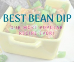 Best Bean Dip Recipe