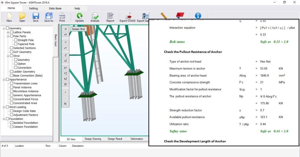 Analysis and Design - ASMTower
