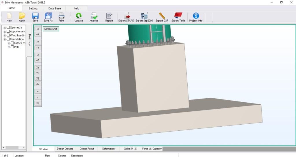 Foundation Design Asmtower