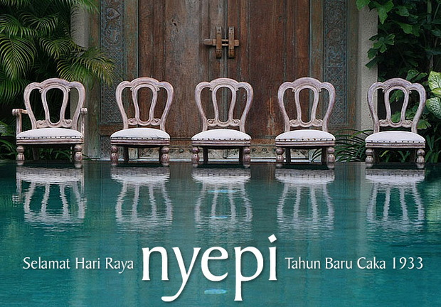 Nyepi Card 2011