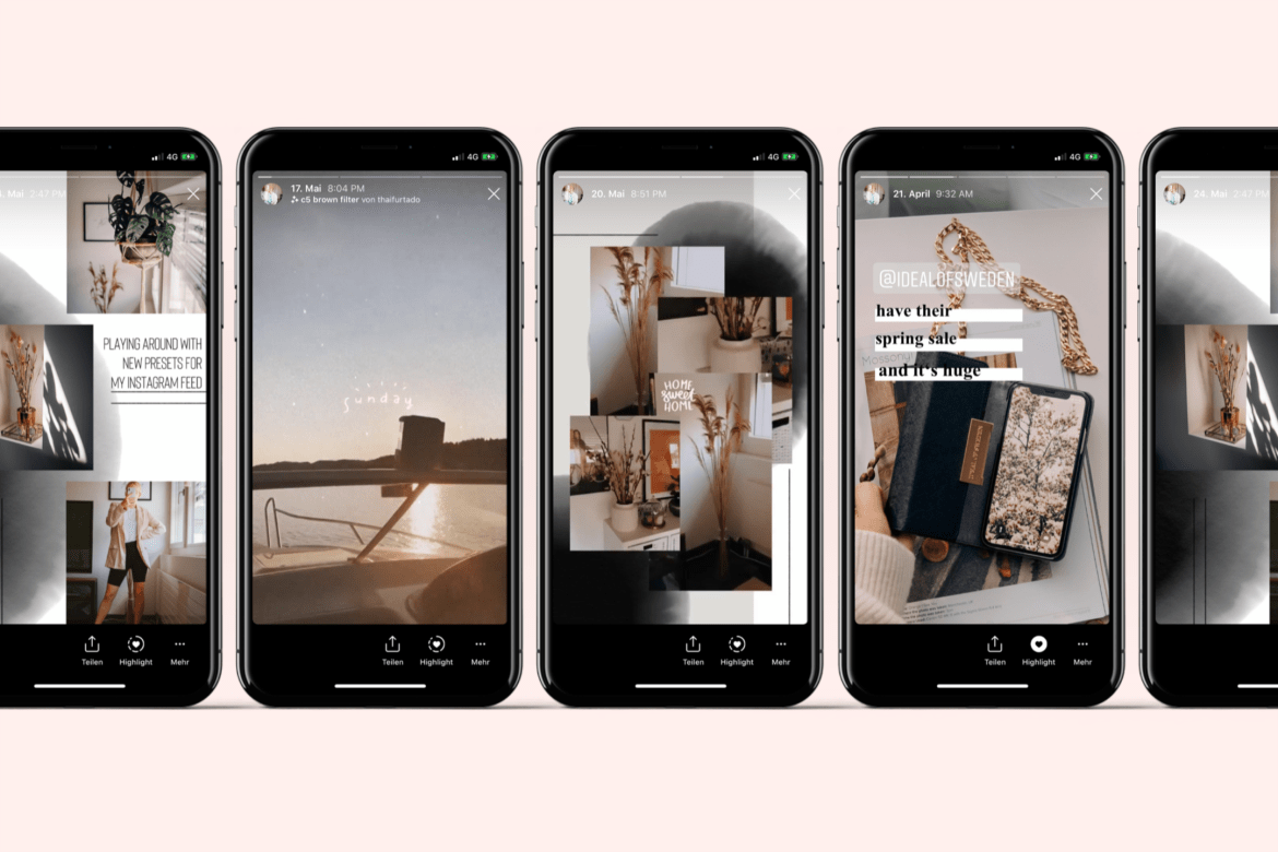 How to create fancy Instagram Stories