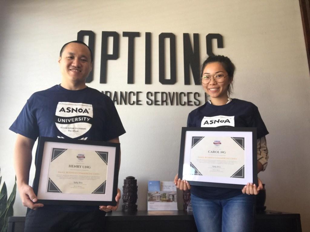 Henry & Carol - CA - Options Insurance