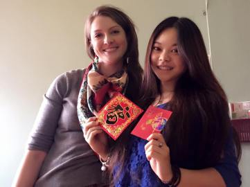 I gave our Chinese student red packets at CNY last year in the U.S. She was excited that I knew about the tradition.