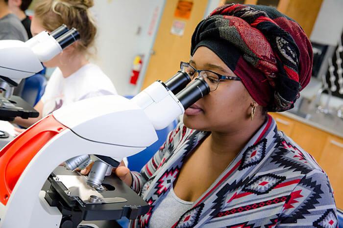 Women In Science Class
