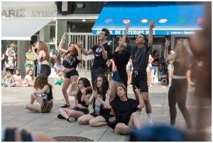 baile moderno grupo 5 fiesta de la musica