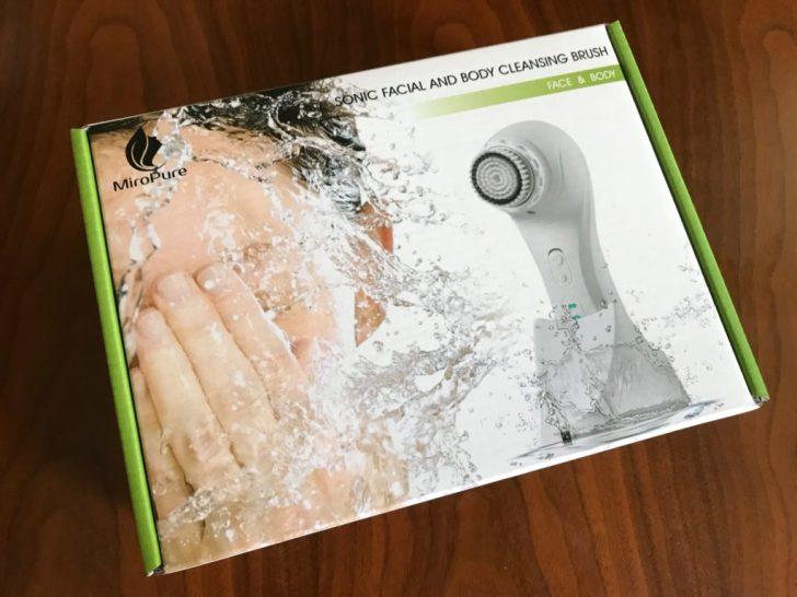 amazonの激安音波洗顔ブラシMiroPure