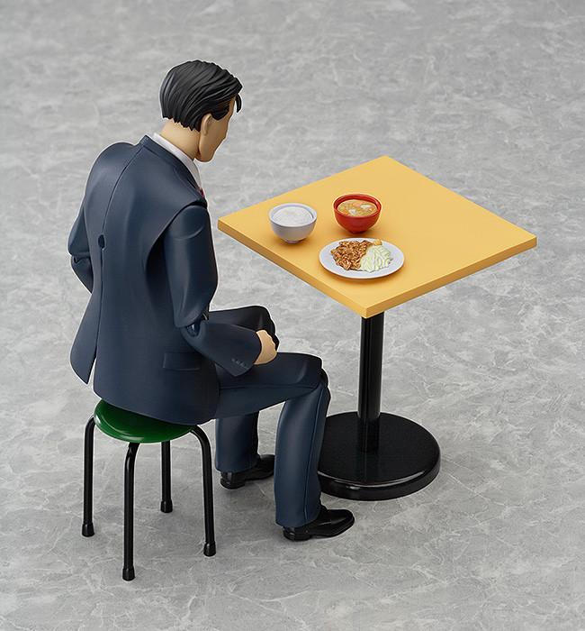 食事をするゴローさん