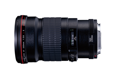 EF200mm F2.8L II USM-view