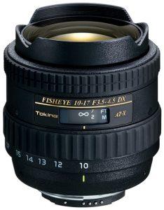 AT-X 107 DX Fish Eye 10-17mm F3.5-4.